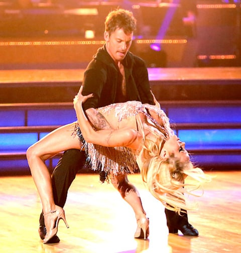 Tristian and Pam DWTS