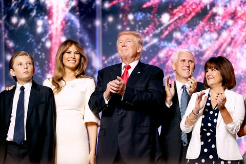 Barron Trump Couldn't Stop Yawning During Donald's RNC ...