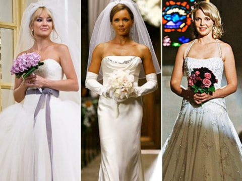 Wedding photos from Bride Wars, Ugly Betty, Grey's Anatomy