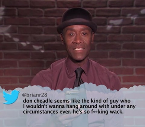 Tweets Don Cheadle