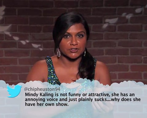 Tweets Mindy Kaling