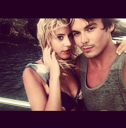 Tyler Blackburn and Lauren Hoover