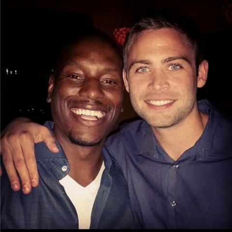 tyrese and paul walker's brother