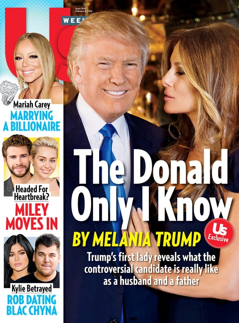 Melania Trump: 'I'm Political at Home' - Us Weekly