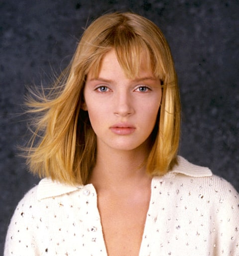 Uma Thurman's Beauty Evolution From the 1980s to Today ... Uma Thurman