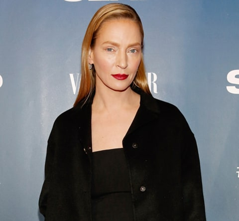 uma thurman at the slap premiere