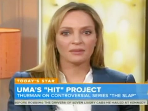 uma thurman on today show