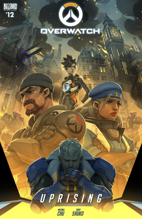 Overwatch Uprising cover