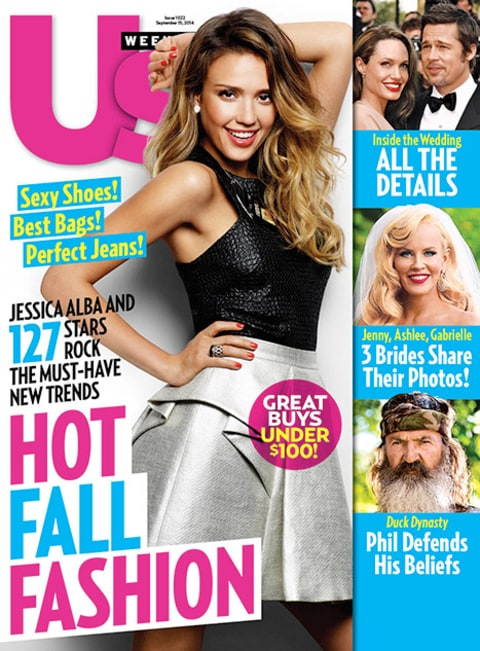 US Weekly Cover Jessica Alba