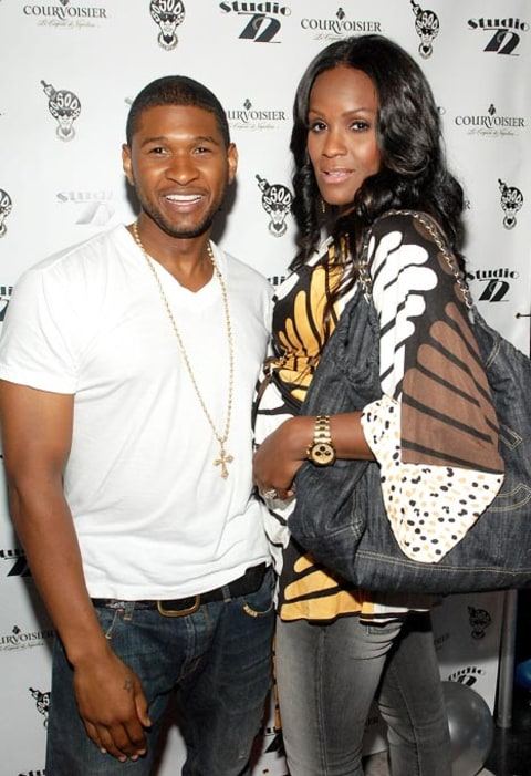 Tameka and Usher