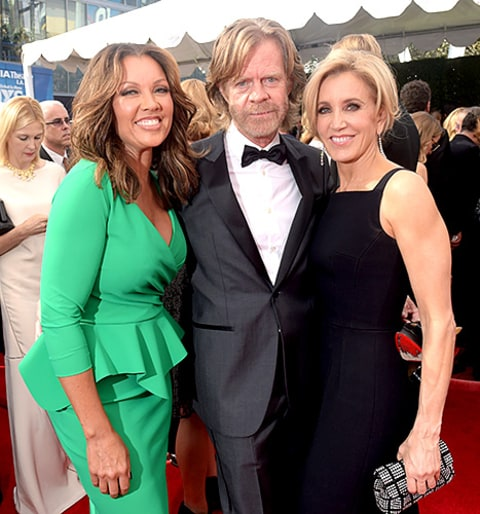 Felicity Huffman and William H. Macy and Vanessa Williams