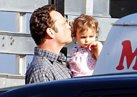 vince vaughn and daughter