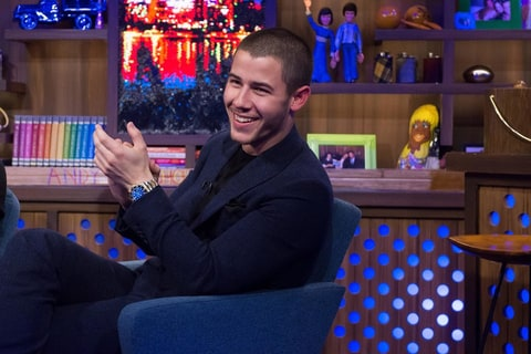 Nick Jonas talked about sexual fetishes on WWHL