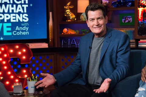 Charlie Sheen on 'Watch What Happens Live'