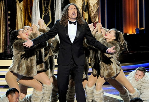 weird al performing at emmys