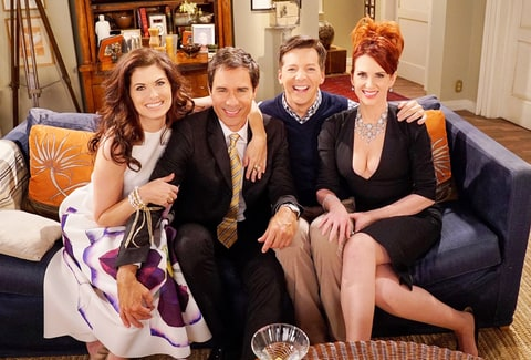 Debra Messing, Eric McCormack, Sean Hayes and Megan Mullally