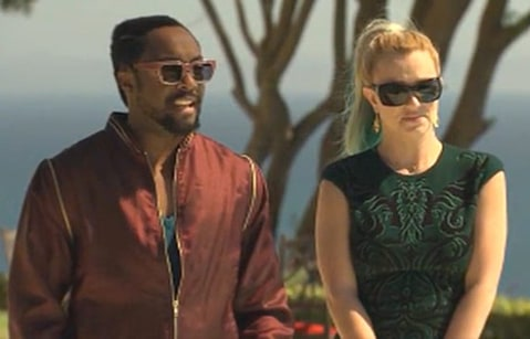 Will I am and Britney