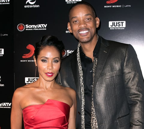 Jada Pinkett Smith and Will Smith attend Sony Music Latin's Official Latin Grammy After Party at XS nightclub at Encore Las Vegas on November 19, 2015 in Las Vegas, Nevada.
