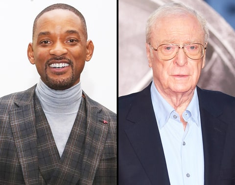 Will Smith and Michael Caine