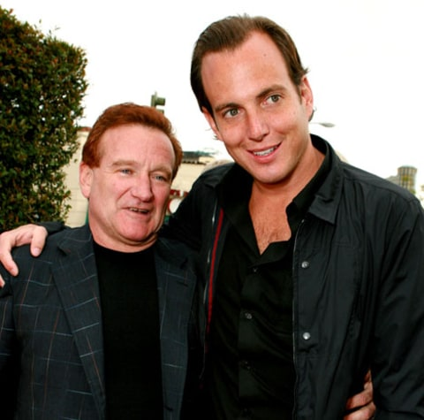 Robin Williams Will Arnett
