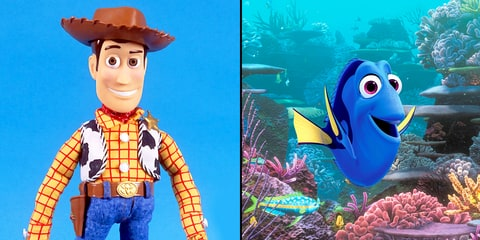 Woody and Dory