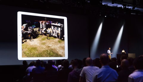 Wingnut shows off an AR game at WWDC 2017