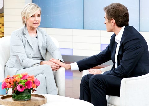 Yolanda Foster and Dr Oz