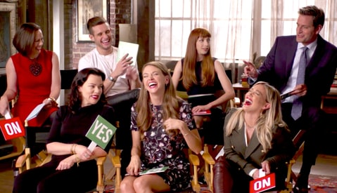 The cast of Younger.