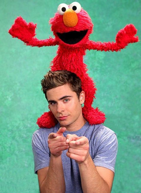 Efron and Elmo