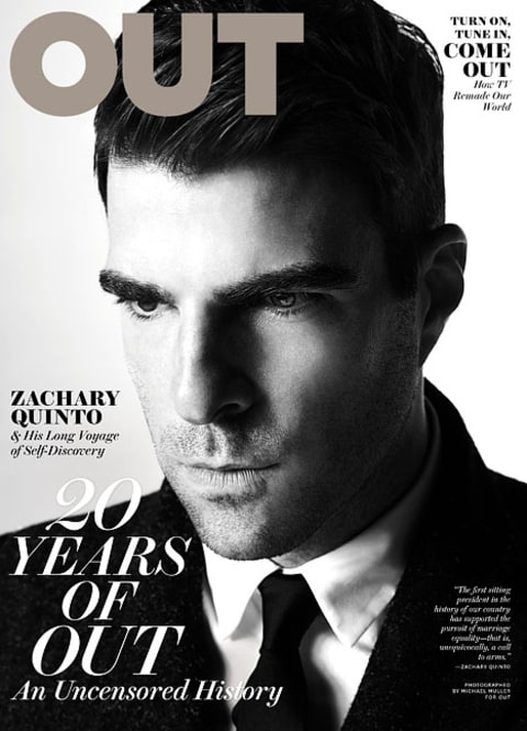 Zacharay Quinto Out Cover