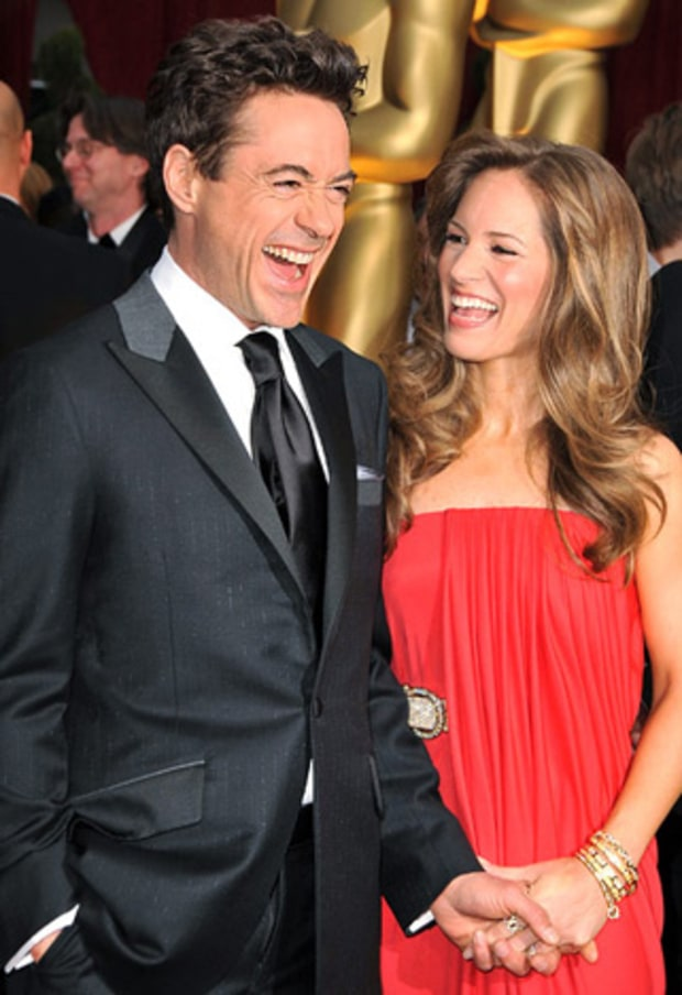Robert Downey, Jr. & Susan Downey