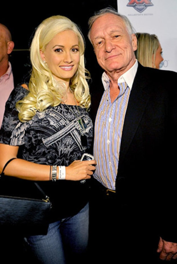 Holly Madison and Hugh Hefner, Girls Next Door