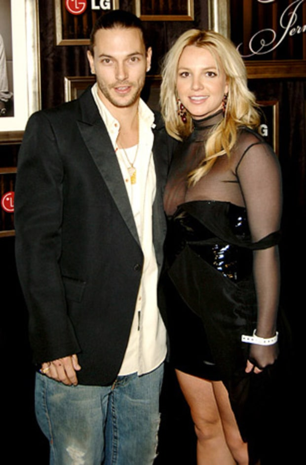 Kevin Federline and Britney Spears, Chaotic