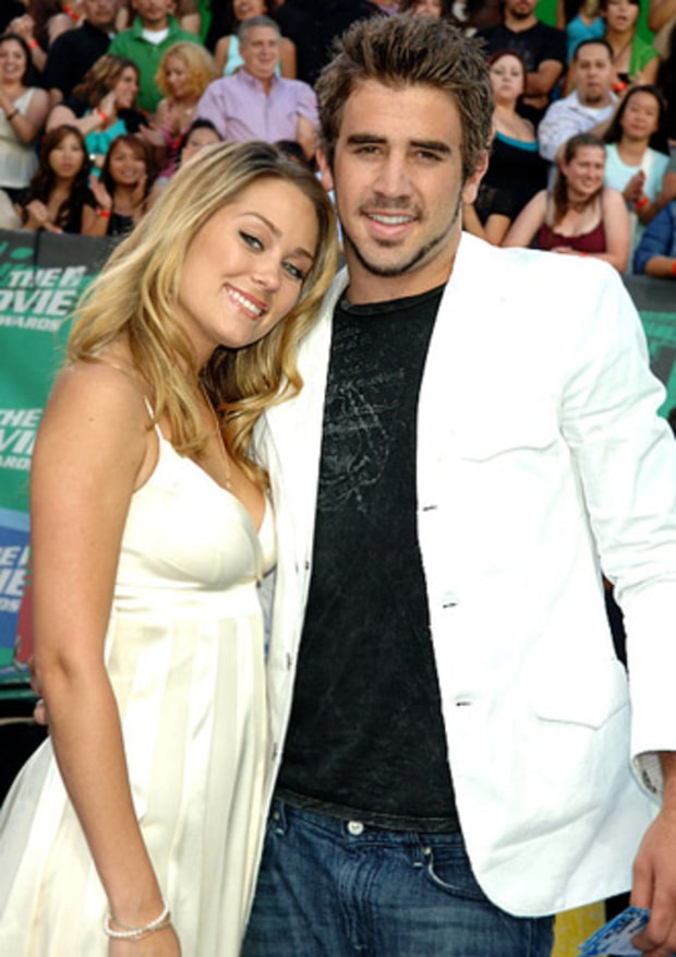 Lauren Conrad and Jason Wahler, The Hills
