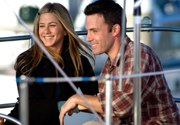 Jennifer Aniston and Ben Affleck