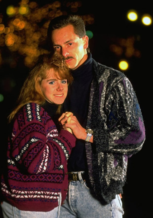 Tonya Harding and Jeff Gillooly