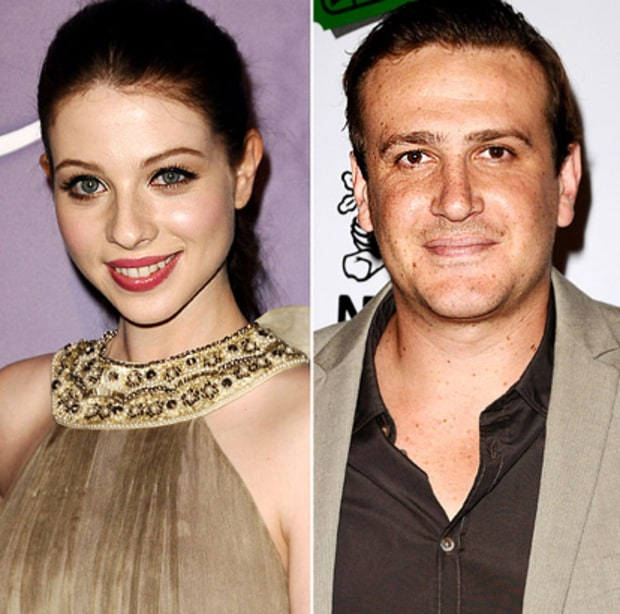 Michelle Trachtenberg and Jason Segel