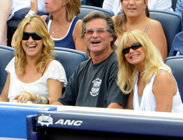 Kate Hudson, Kurt Russell and Goldie Hawn
