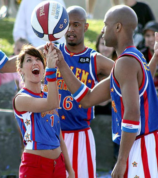 Hanging With The Harlem Globetrotters