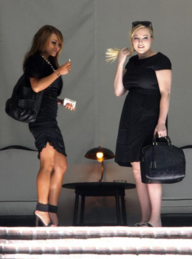 Tila Tequila and Meghan McCain
