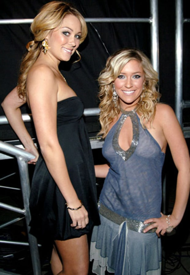 Lauren Conrad and Kristin Cavallari, Laguna Beach
