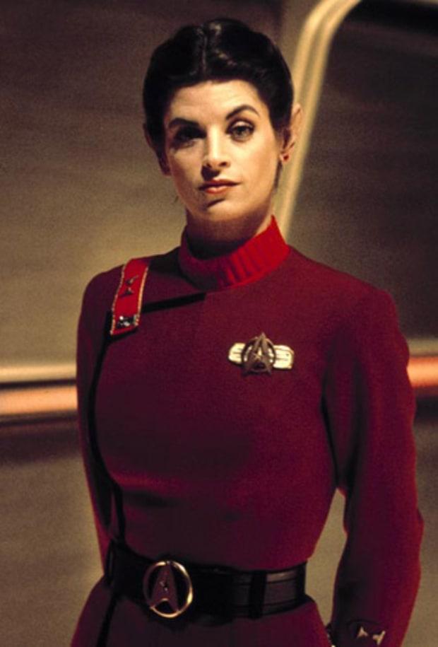 Kirstie Alley: 1982   Stars' Secret Star Trek Pasts   Us ...
