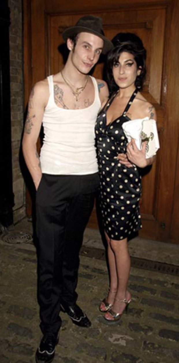 Amy Winehouse & Blake Fielder-Civil