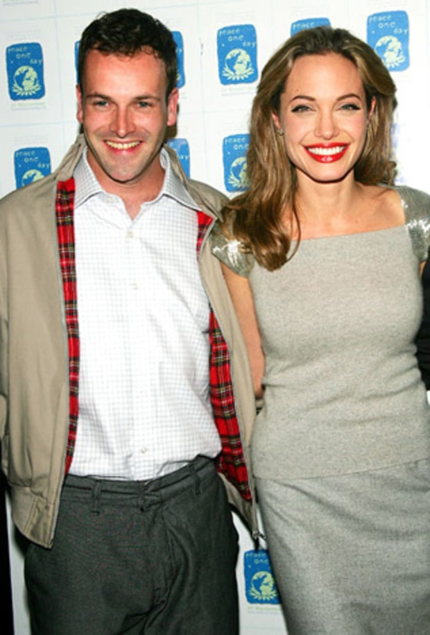 Angelina Jolie and Johnny Lee Miller