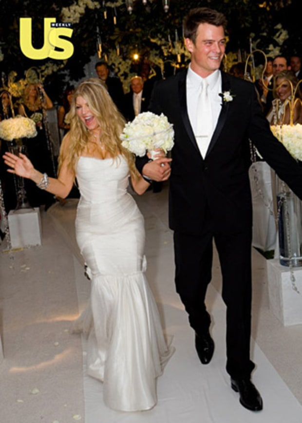 Fergie & Josh's Wedding Day: Jan. 10, 2009