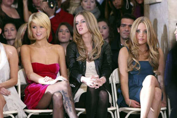 Paris Hilton, Nicky Hilton and Amanda Bynes