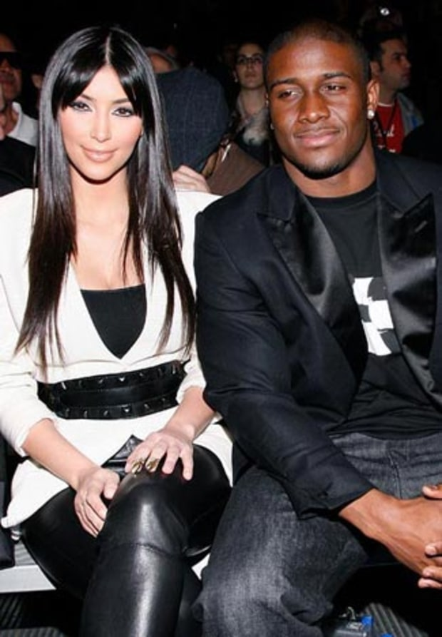 Kim Kardashian and Reggie Bush
