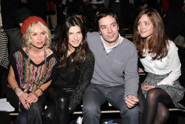 Rachel Zoe, Lake Bell, Jimmy Fallon and Rose Byrne
