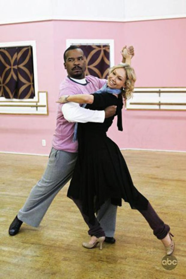 David Alan Grier and Kym Johnson