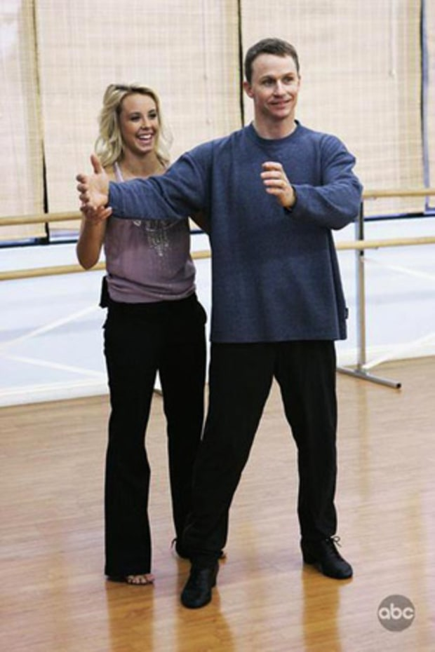 Ty Murray and Chelsea Hightower | See Dancing With The Stars Rehearsal ... Tobey Maguire